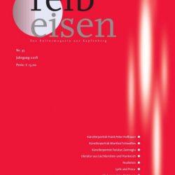 Literaturzeitschrift Reibeisen (III): Ehrensache (Erzählung)
