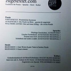 Literaturzeitschrift zugetextet.com: Idylle (Erzählung)